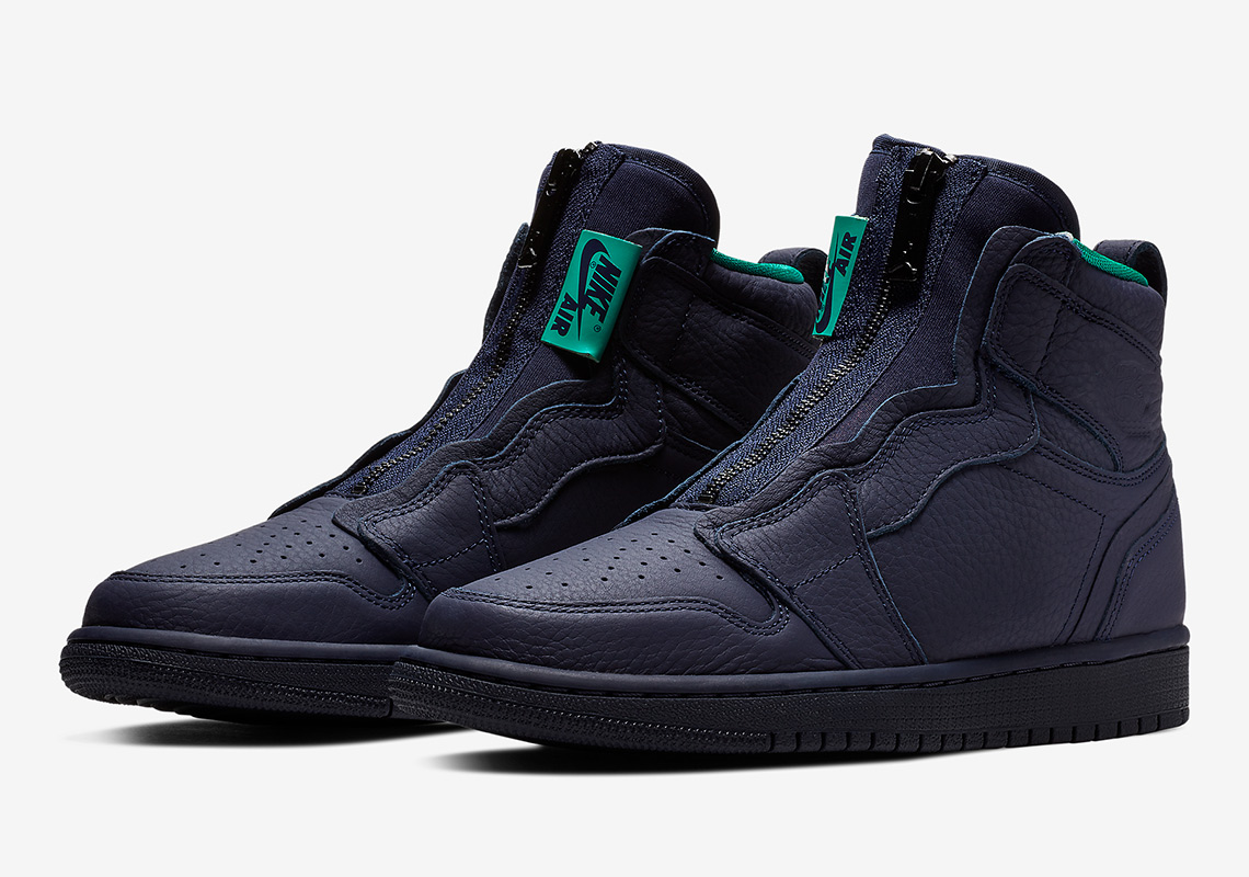 b7c598273c475 The Air Jordan 1 Retro High Zip Arrives In Hornets Colors ...