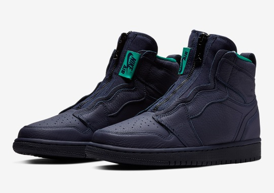 The Air Jordan 1 Retro High Zip Arrives In Hornets Colors