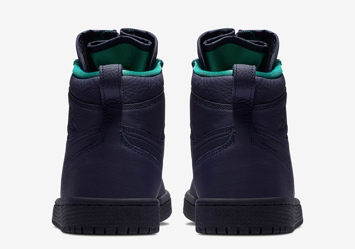 15bb9742516f The Air Jordan 1 Retro High Zip Arrives In Hornets Colors ...