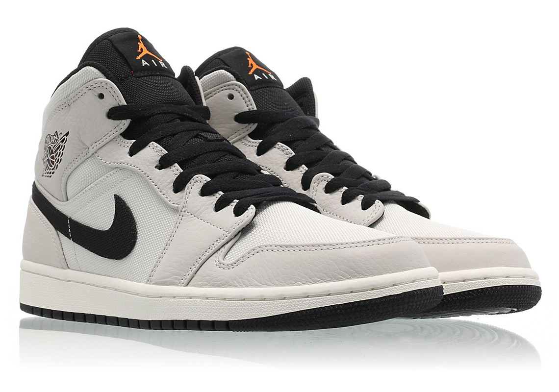 purchase cheap 3d6b2 6a921 Air Jordan 1 Mid Color  Light Bone Cone-Black-Sail Style Code  852542-002.  Where to Buy. Caliroots Available  43einhalb Available  Titolo Available