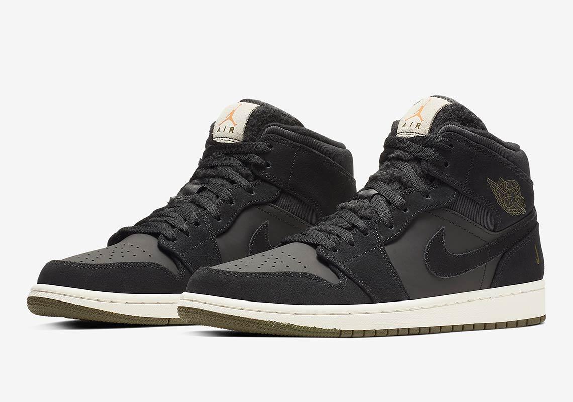 d4409b269eb Air Jordan 1 Mid Fleece BQ6579-300 BQ6579-001   SneakerNews.com