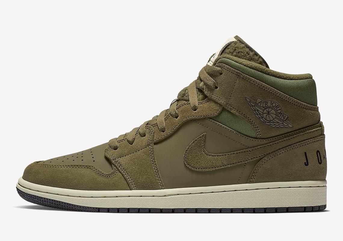 new high quality discount shop release date Air Jordan 1 Mid Fleece BQ6579-300 BQ6579-001 | SneakerNews.com