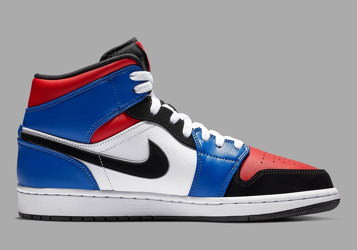 best sneakers 82f5c 5e45a Air Jordan 1 Mid 554724-124 Top 3 Release Info   SneakerNews.com