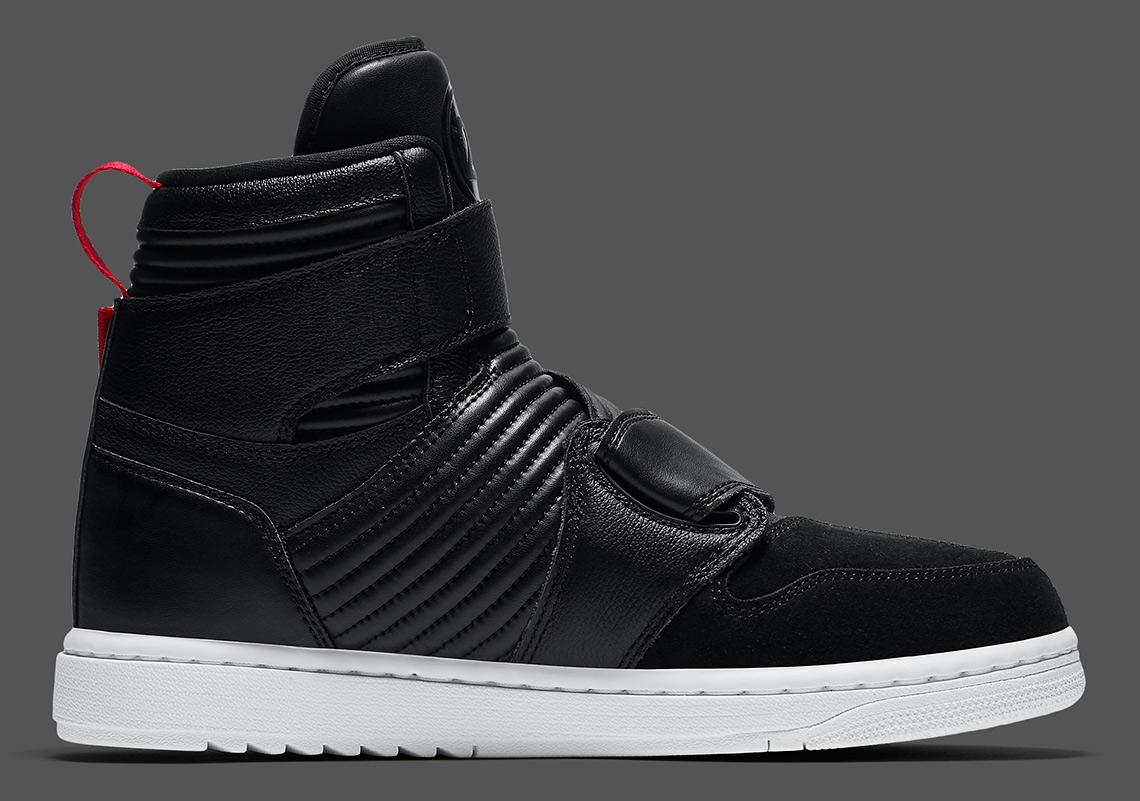 more photos b3fe3 12342 Air Jordan 1 Moto Black Red AT3146-001 | SneakerNews.com