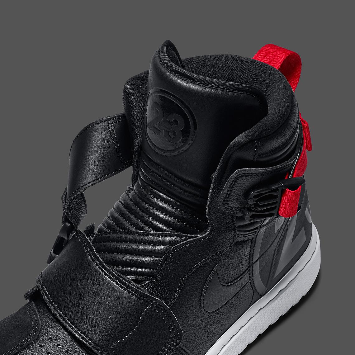 Air Jordan 1 Moto Black Red AT3146-001