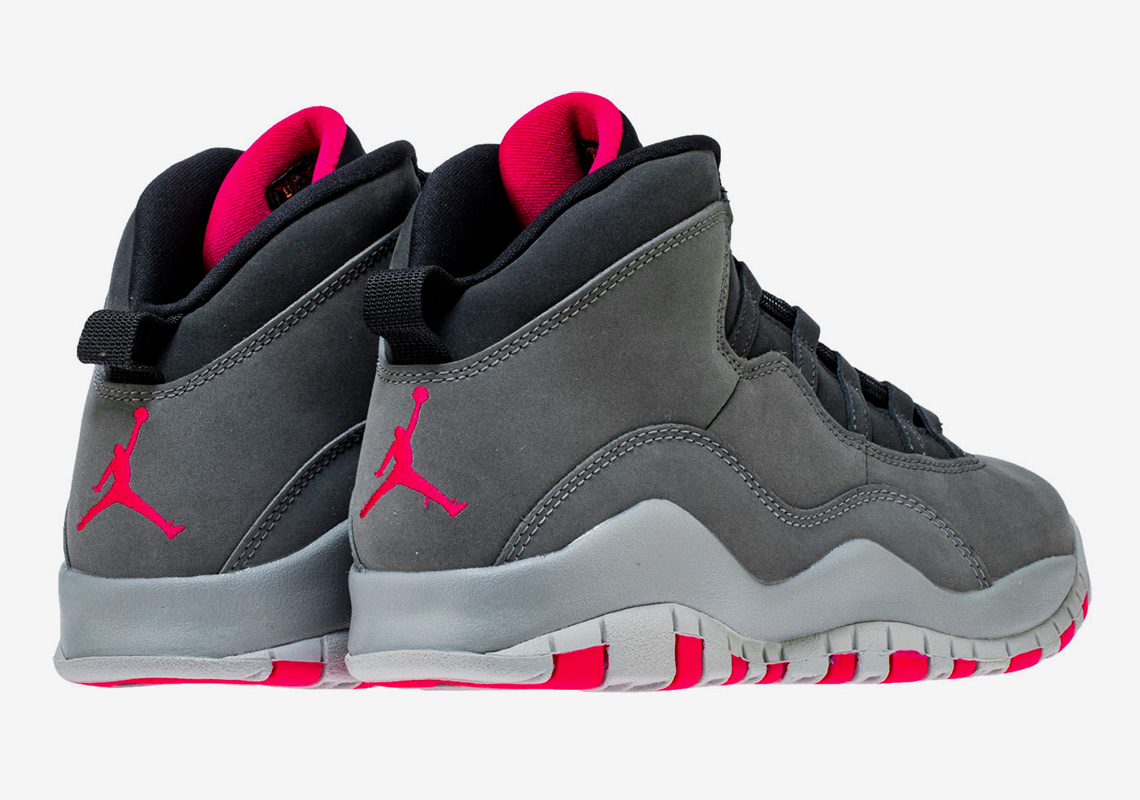 "38385121cb45 Air Jordan 10 ""Smoke Grey"" Releases This Month In Grade School Sizes"