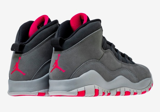 "Air Jordan 10 ""Smoke Grey"" Releases This Month In Grade School Sizes"