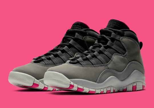 "Where To Buy The Air Jordan 10 Girls ""Smoke Grey"""