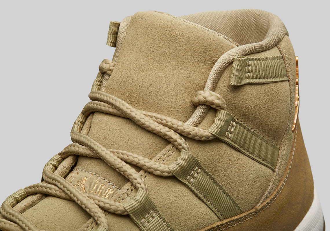 Air Jordan 11 Olive Lux Holiday 2018 Release Date  d482b1615