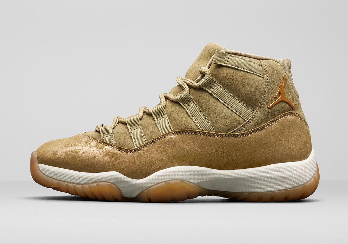 new style 4cf27 3e2eb Air Jordan 11 Olive Lux Holiday 2018 Release Date ...