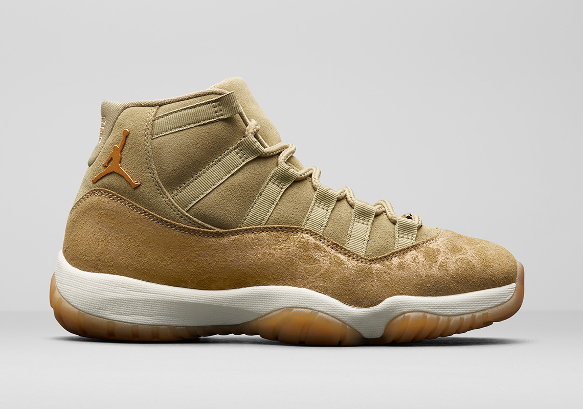 Air Jordan 11 Olive Lux Holiday 2018 Release Date