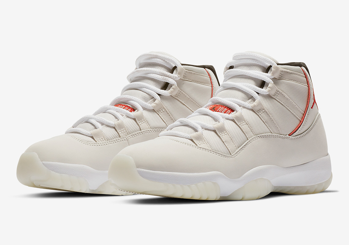 "71f263eda5f The Air Jordan 11 ""Platinum Tint"" Releases On October 27th"