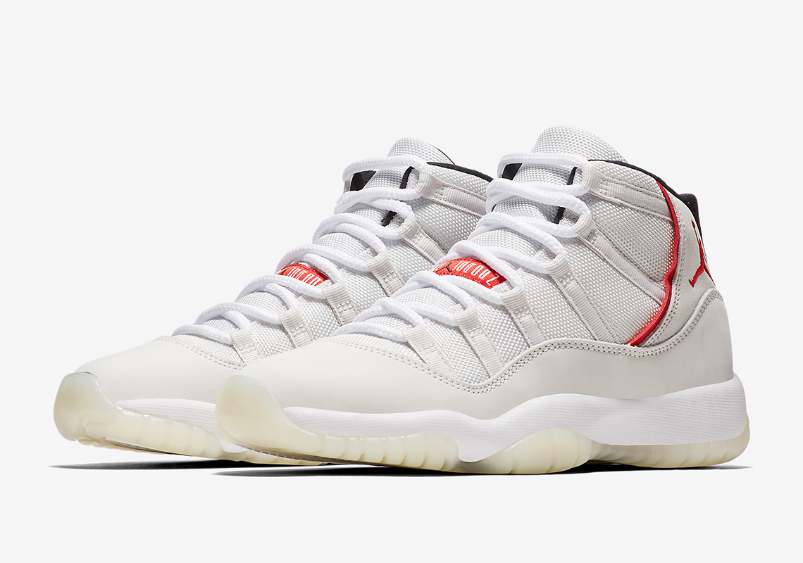 "6ed778a0ee4956 The Air Jordan 11 ""Platinum Tint"" Is Releasing In Grade School Sizes"