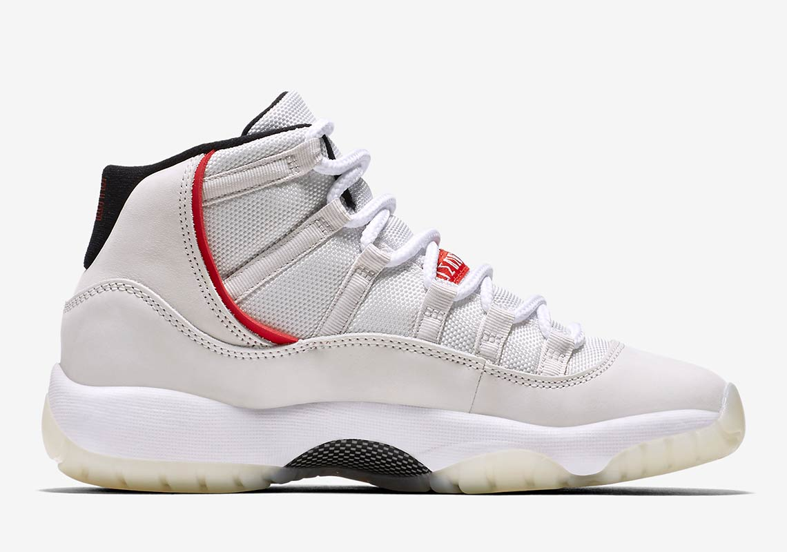 sneakers for cheap 64078 97281 Jordan 11 Platinum Tint Grade School Release Date   SneakerNews.com