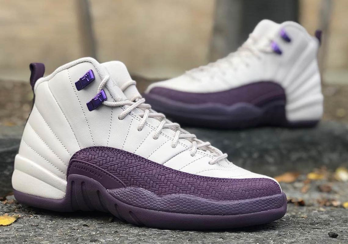 """detailed look 0dc8a ce55e Air Jordan 12 """"Pro Purple"""" Is Dropping Next Month"""