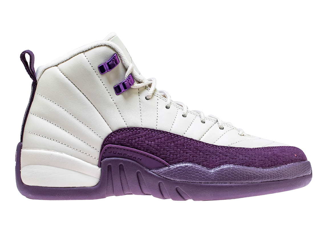 86bc4f6e19b9a7 Jordan XII Pro purple GG extended sizes release
