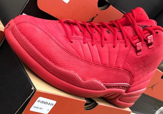 An All Red Air Jordan 12 Is Releasing On Black Friday