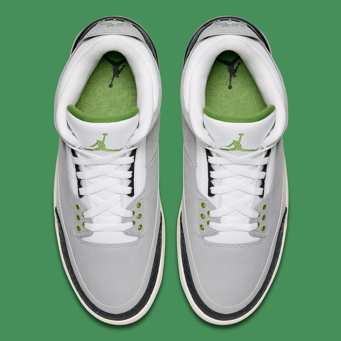 "d2eaeade7fb Air Jordan 3 ""Chlorophyll"" is inspired by the Nike Air Trainer 1 ..."
