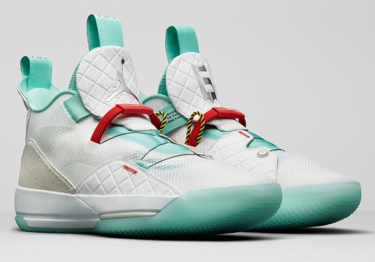 """Air Jordan 33 """"Guo Ailun"""" PE Will Release Exclusively In China"""