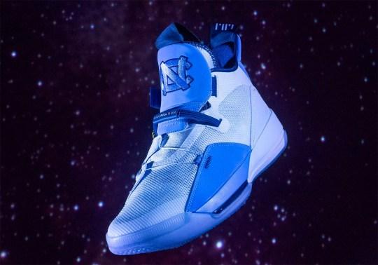 "UNC Basketball Reveals An Air Jordan 33 ""Tar Heels"" PE"