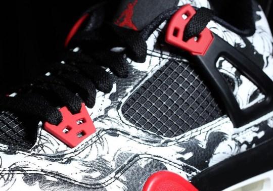 "First Look At The Air Jordan 4 ""Tattoo"""