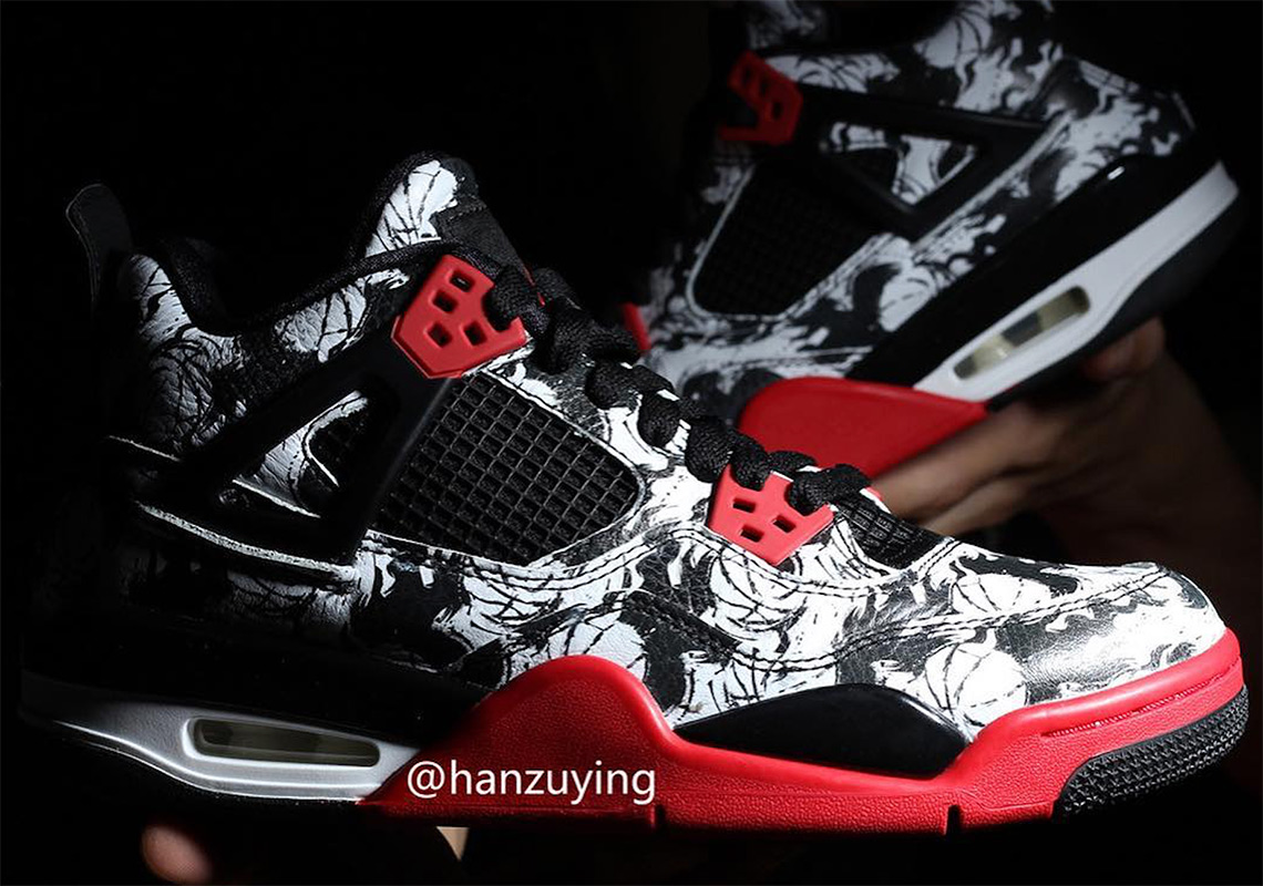 Jordan 4 Tattoo Release Date Bv7451 003 Sneakernews Com