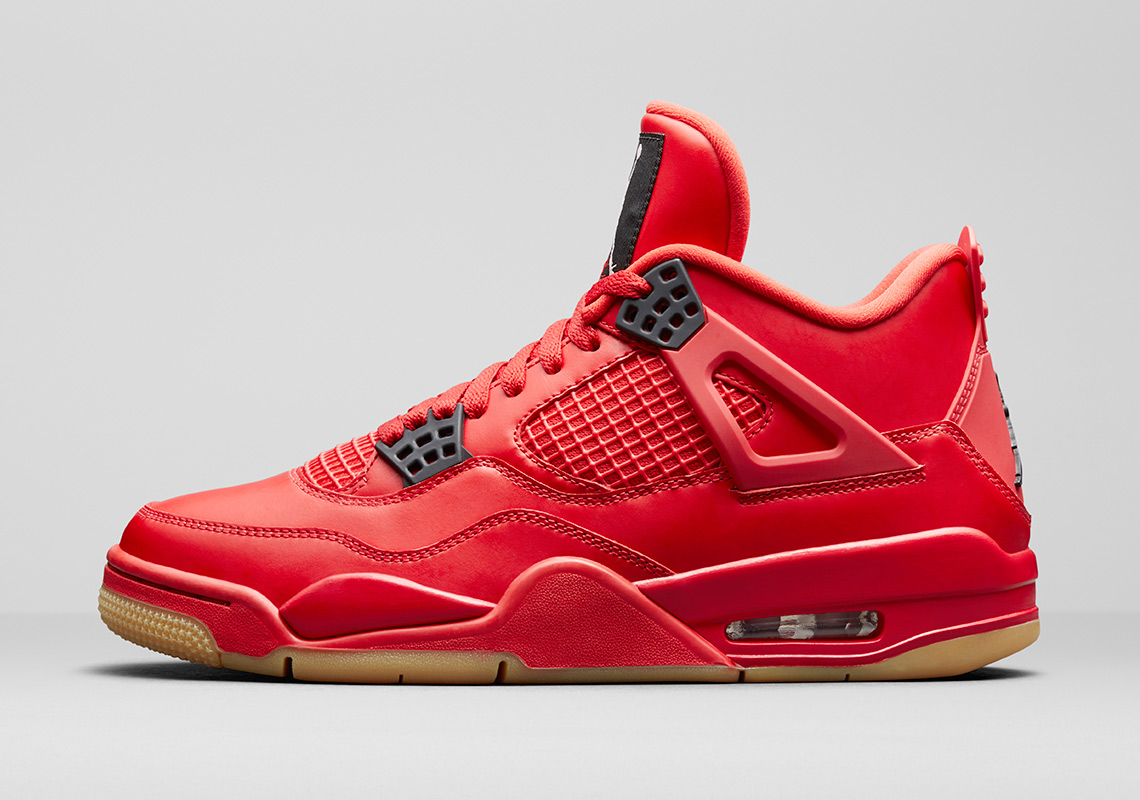 Air Jordan 4 Fire Red Gum Singles Day AV3914-600  8578c1b7f