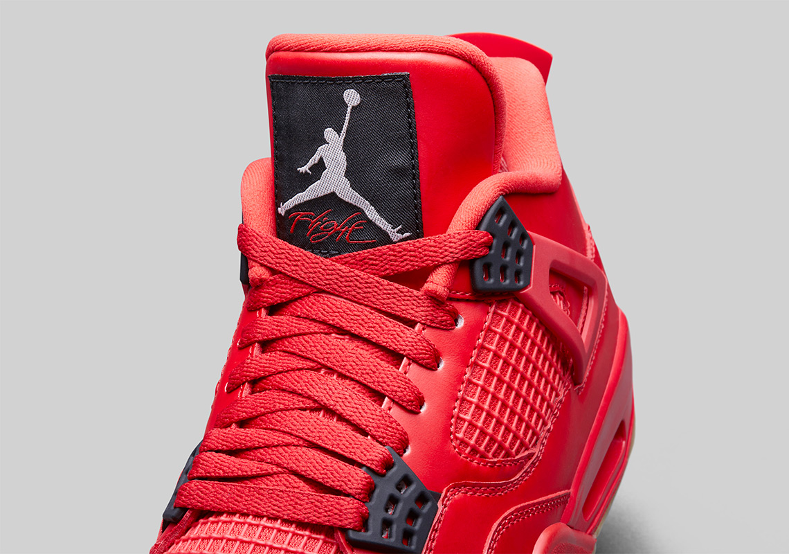 "huge selection of 6186a cd8c3 Air Jordan 4 ""Singles Day"" Fire Red/Summit White-Black ..."