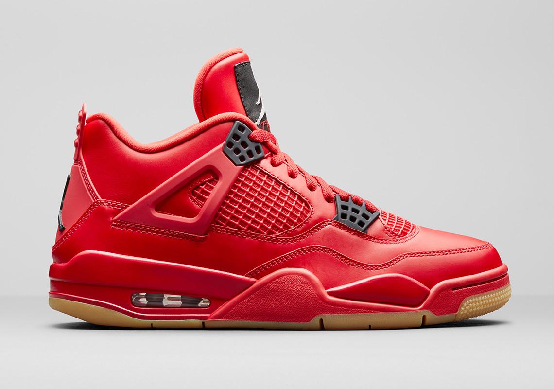 99473454cb02 Air Jordan 4 Fire Red Gum Singles Day AV3914-600