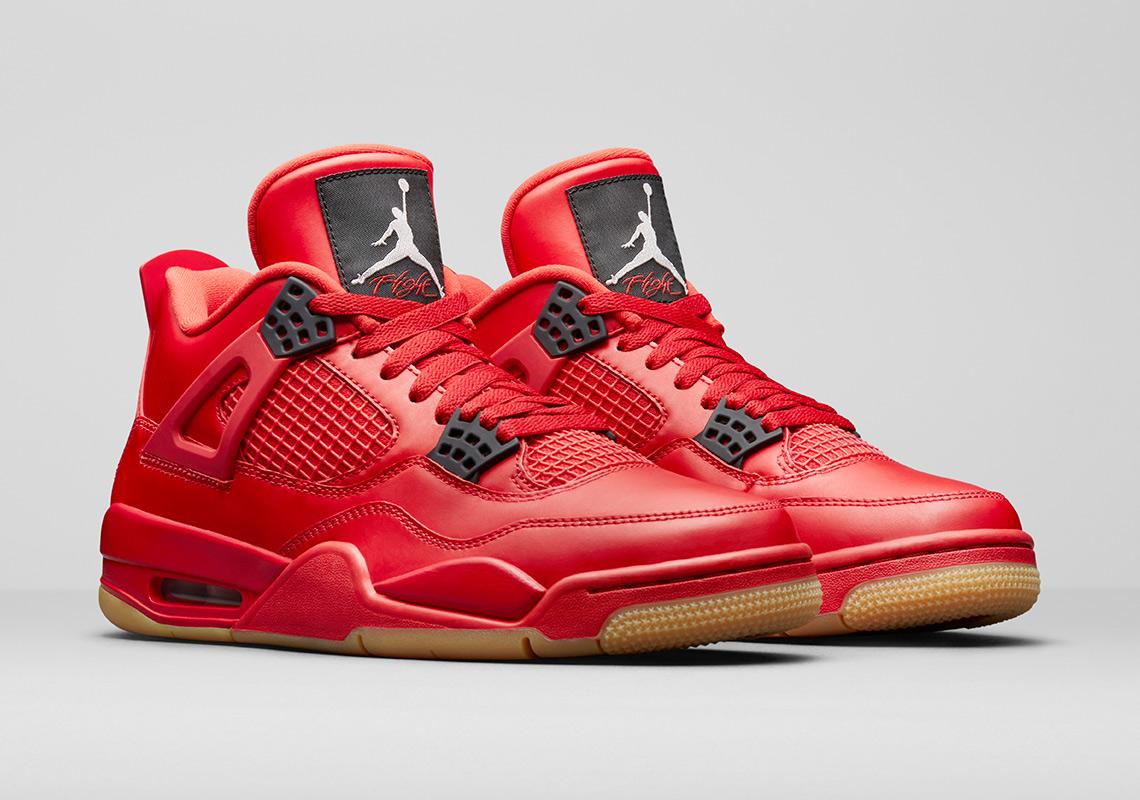 Air Jordan 4 Fire Red Gum Singles Day AV3914-600
