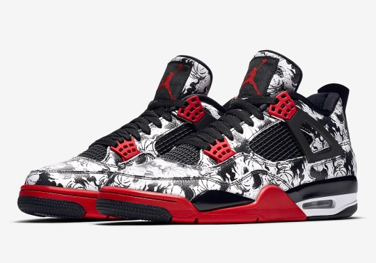 """Official Images Of The Air Jordan 4 """"Tattoo"""""""