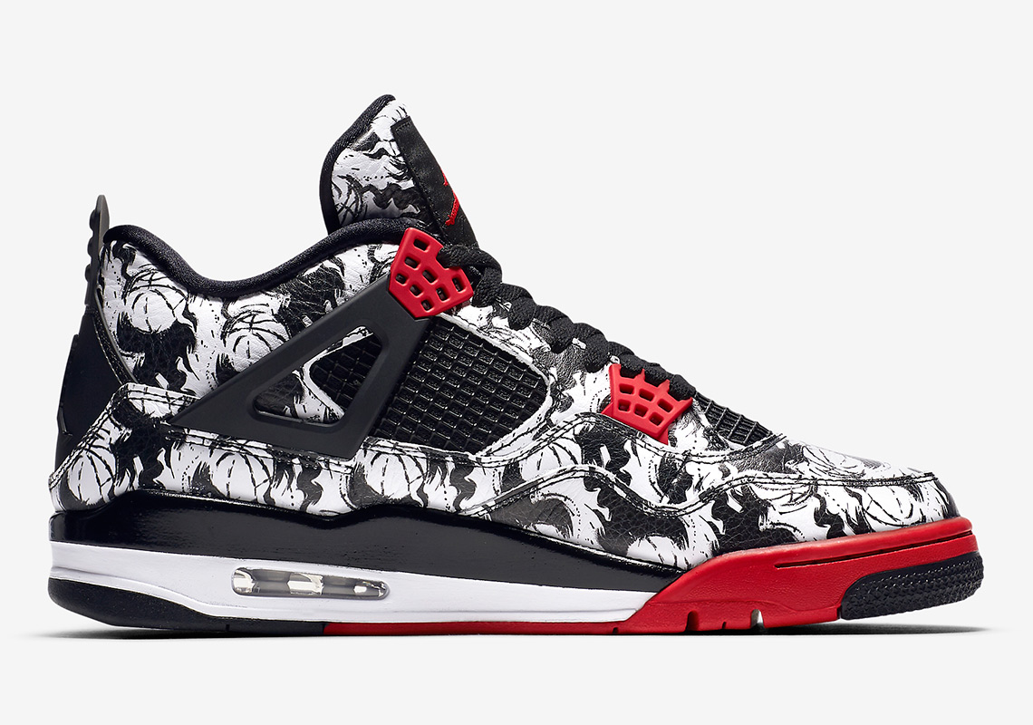 Jordan 4 Tattoo Bq0897 006 Release Info Sneakernews Com