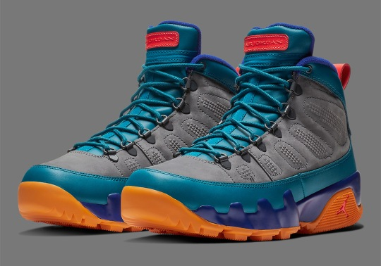 Air Jordan 9 NRG Boot Brings In Energetic Theme To Winter Shoes