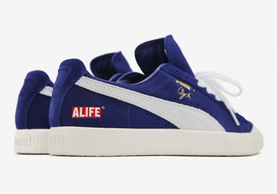 ALIFE And Puma Create Two Luxe Clydes For New York
