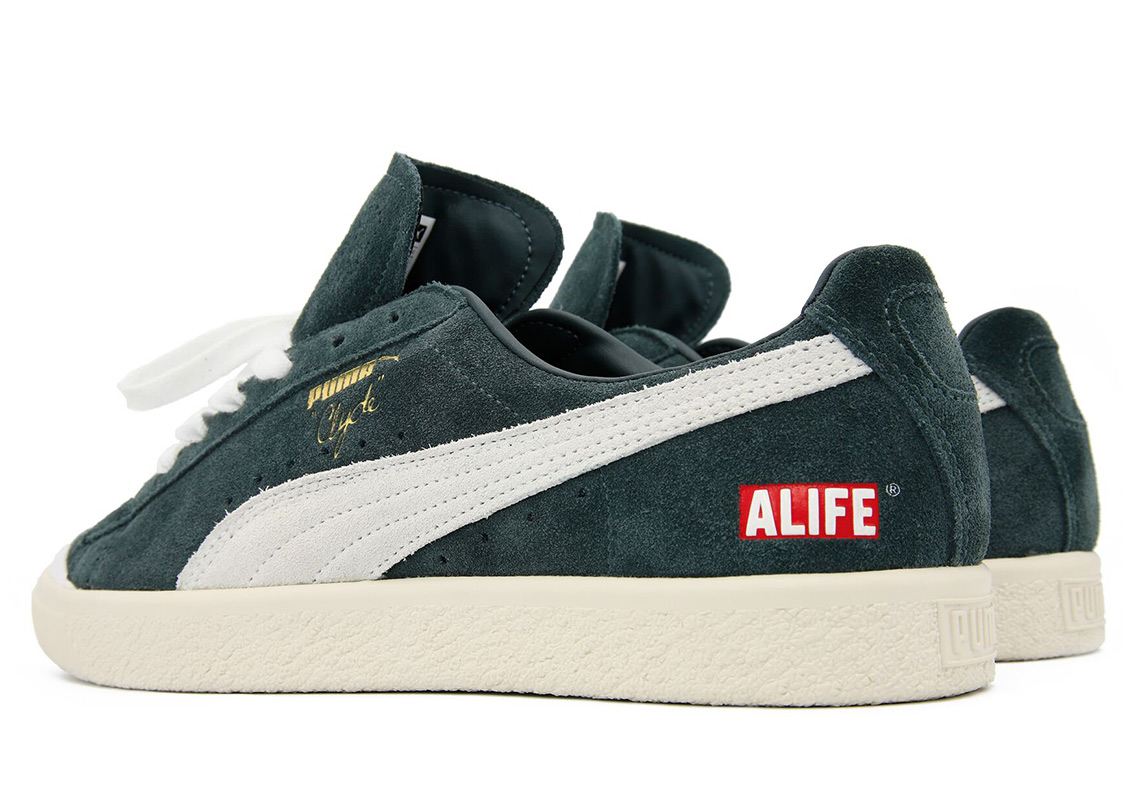 f924ac1a8a3d18 ALIFE x Puma Clyde Release Date  October 18th