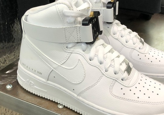ALYX Debuts Nike Air Force 1 High Collaboration At Hypefest