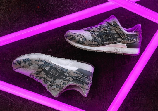 atmos And Solebox Team Up For An ASICS GEL-Lyte III Release