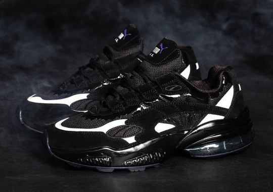 BAIT, Marvel, And Puma Are Dropping A Venom-Inspired Puma Cell