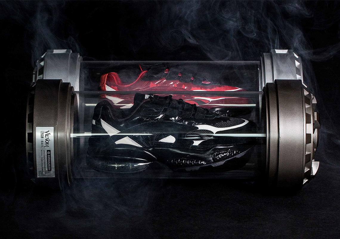 How To Buy The BAIT x Marvel x Puma Cell Venom + Carnage Kits 13da5e3ac