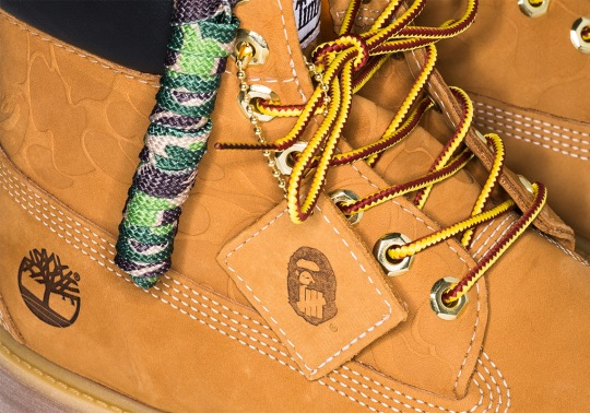 BAPE And UNDEFEATED Add A Twist To The Timberland 6″ Classic Boot