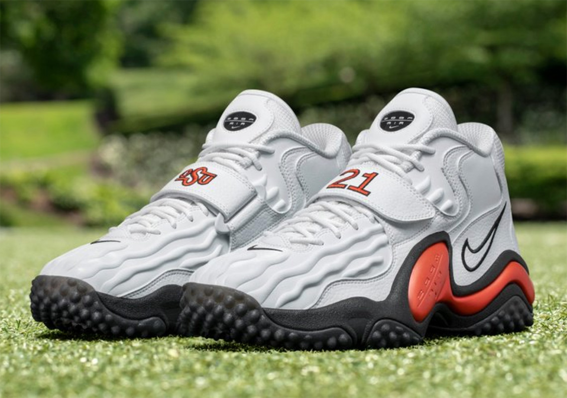 e4bf8aeebb Barry Sanders And Nike To Release A Limited Oklahoma State Air Zoom Turf Jet