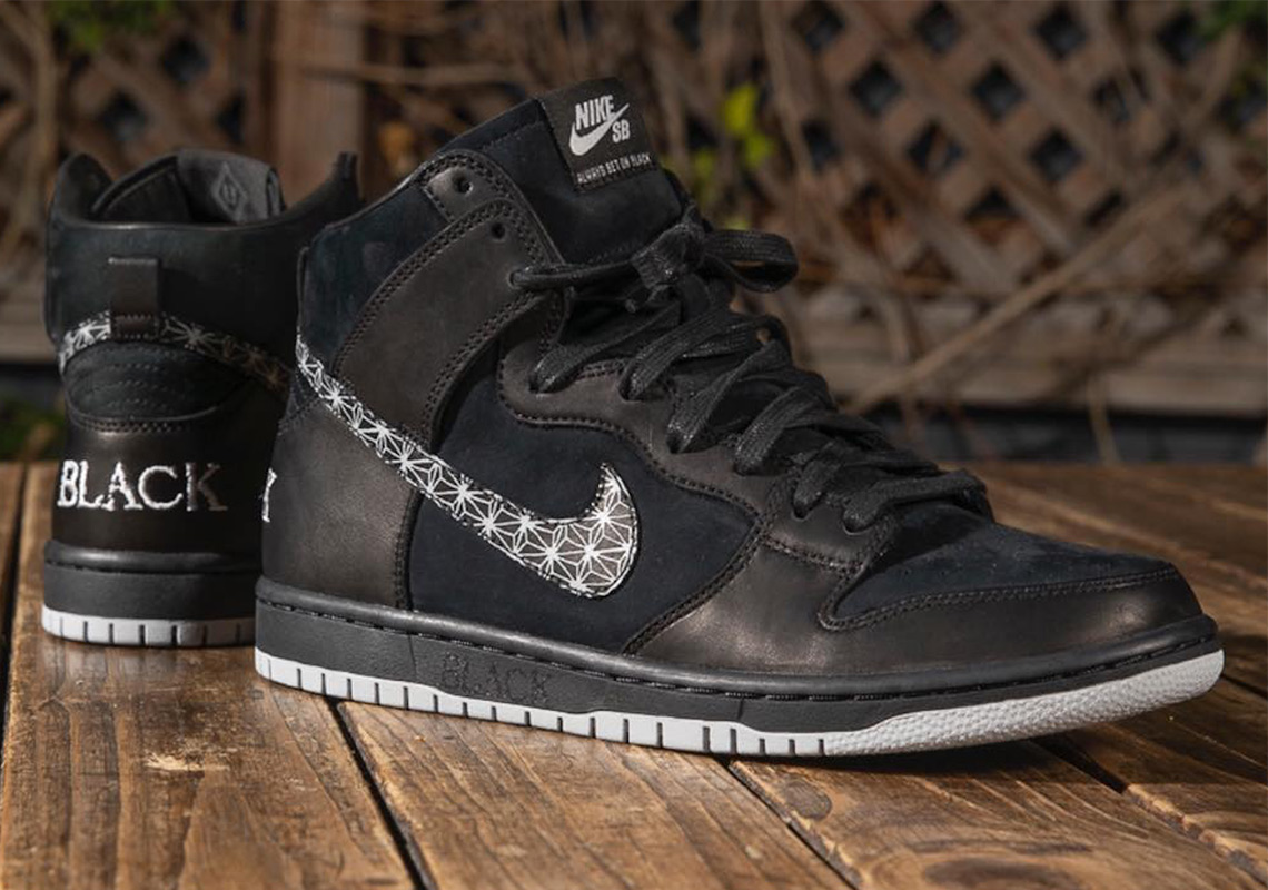 Nike SB And Black Bar To Release A Dunk High Collaboration e4a96fc44044