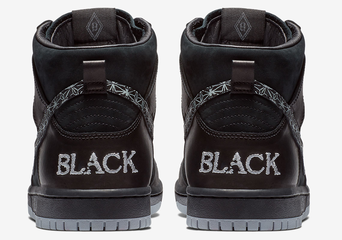 huge selection of 38fa1 9f8b3 Black Bar Nike SB Dunk High AH9613-002 Release Info   SneakerNews.com
