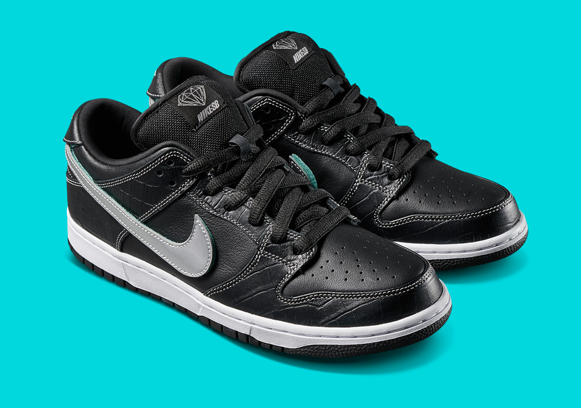 "3c93eeb32dfe7 Nike SB ""Diamond Dunk"" Release Dates Announced – ALL SNKRS"