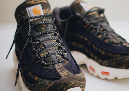 First Look At The Carhartt x Nike Air Max 95