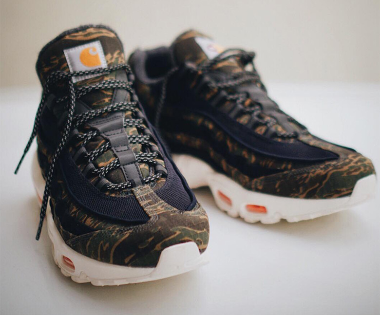 eec0403f63d20 More from Sneakers. First Look At The Carhartt x Nike Air Max 95