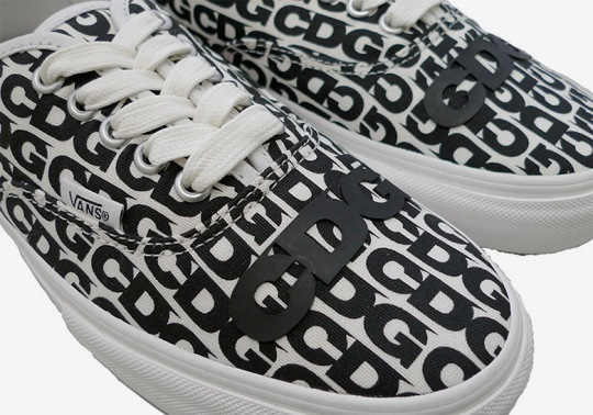 Comme des Garçons CDG And Vans To Release An Authentic This Weekend In Japan