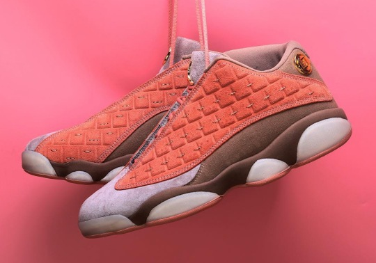 First Look At The CLOT x Air Jordan 13 Low