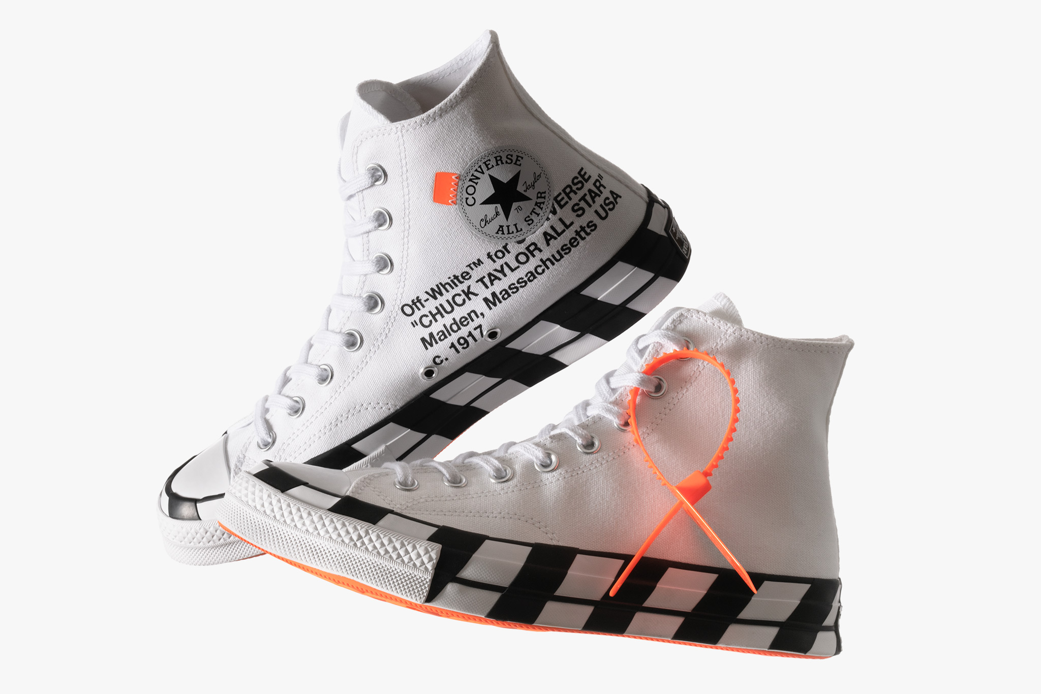 NEW OFF-WHITE x Converse Chuck 70 - Where to Buy ...