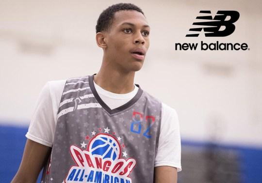 New Balance Signs High School Basketball Standout To Endorsement Deal
